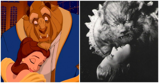 Beauty and the Beast and Belle et la Bete
